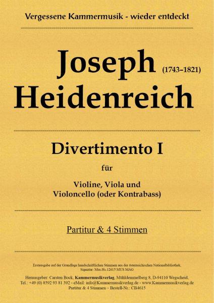 Joseph Heidenreich – Divertimento I