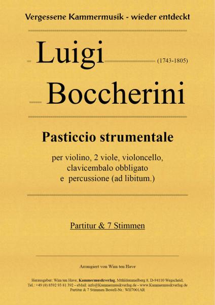 Boccherini, Luigi – Pasticcio strumentale
