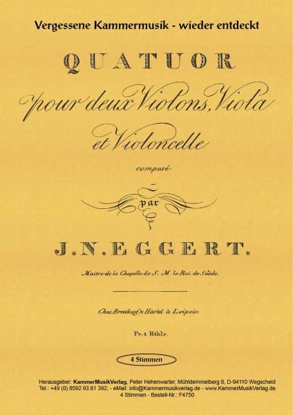 Eggert, Joachim Nikolas – Streichquartett Nr. 2
