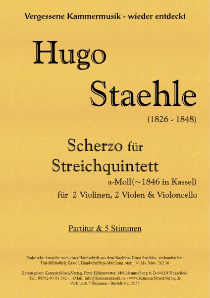 Staehle, Hugo – Streichquintett, a-Moll