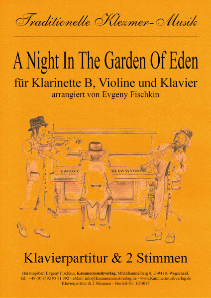A Night In The Garden Of Eden – Klezmer-Musik