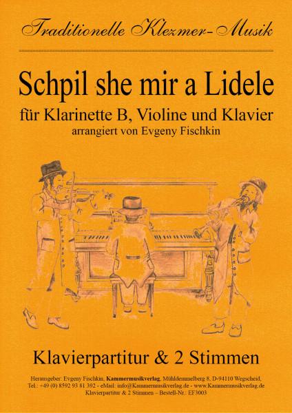 Schpil she mir a Lidele – Klezmer-Musik