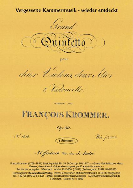 Krommer, Franz – Streichquintett Nr. 15