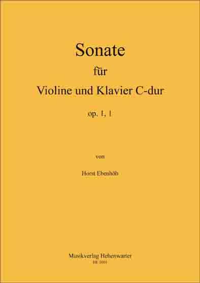 Ebenhöh, Horst – Sonate Nr. 1 für Violine und Klavier