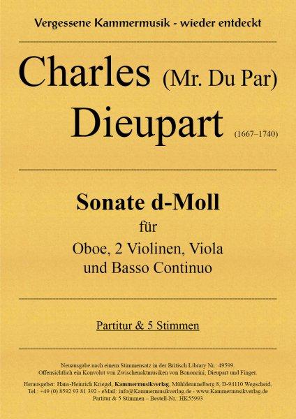 Dieupart Charles – Sonate d-Moll
