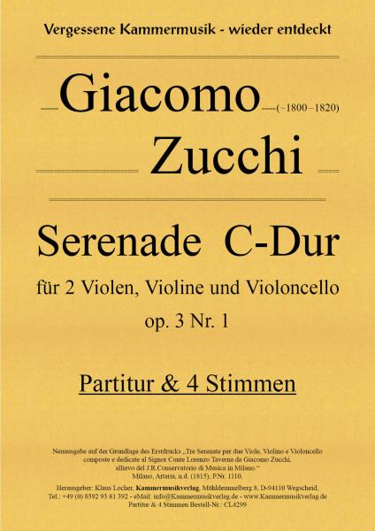 Zucchi, Giacomo – Serenade C-Dur