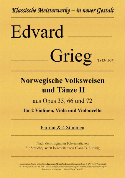 Grieg, Edvard – Norwegische Volksweisen und Tänze - Band II