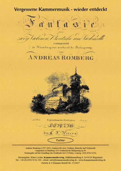 Romberg, Andreas – Streichquartett Nr. 19