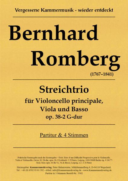 Romberg, Bernhard – Streichtrio, G-Dur, op 38-2