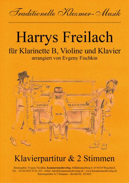 Harrys Freilach – Klezmer-Musik