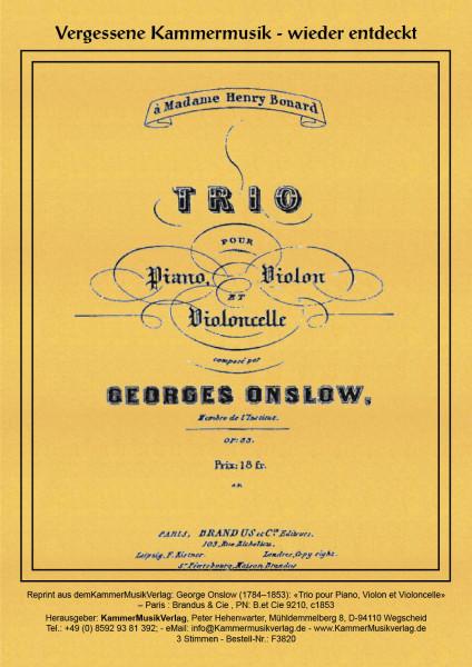 Onslow, George – Klaviertrio Nr. 10