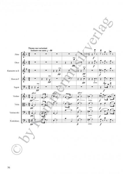 Onslow, George – Bläser-Streicher-Nonett, a-Moll, op. 77
