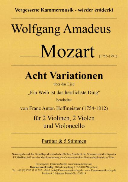 Mozart, Wolfgang Amadeus – Acht Variationen