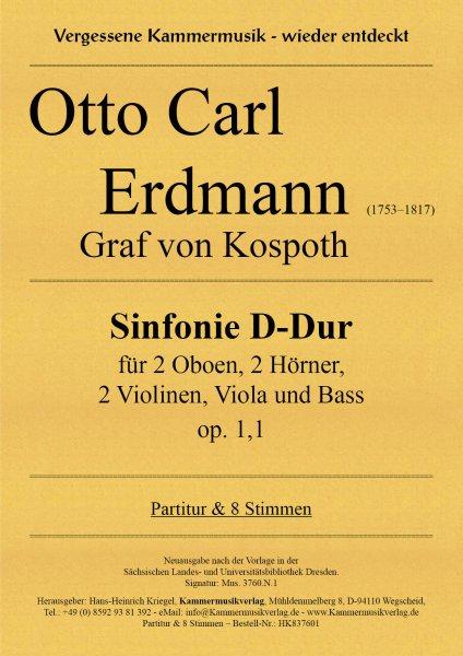 Otto Carl Erdmann – Sinfonie D-Dur