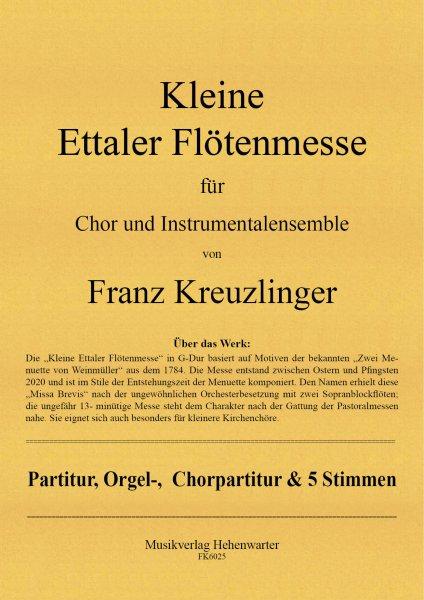 Kreuzlinger Franz – Kleine Ettaler Flötenmesse