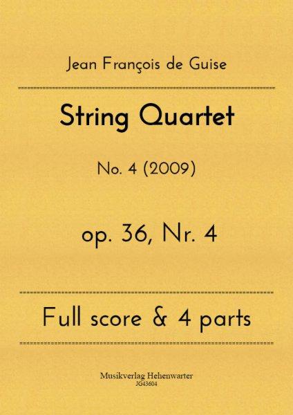 Guise, Jean François de – String Quartet No. 4