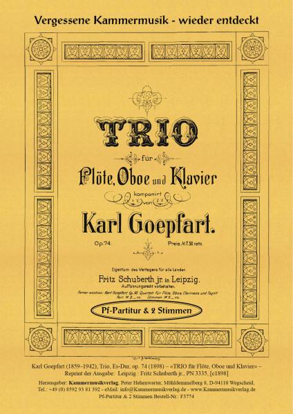 Goepfart, Karl – Trio, Es-Dur