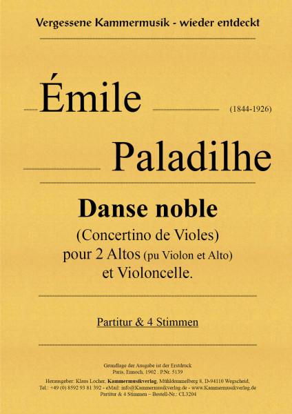 Paladilhe, Émile – DANSE NOBLE