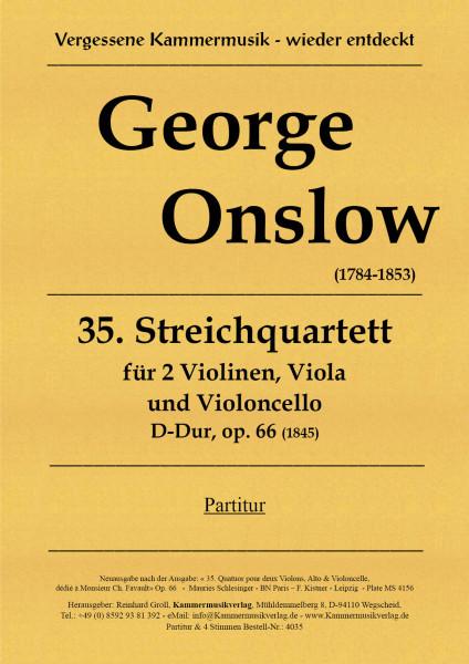 Onslow, George – Streichquartett Nr. 35