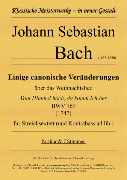 Bach, Johann Sebastian – Einige canonische Veränderungen