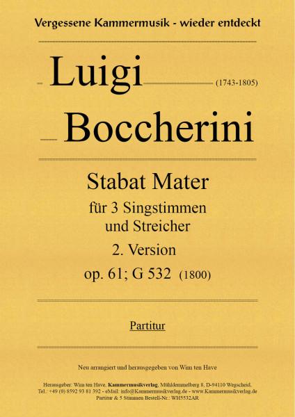 Boccherini, Luigi – Stabat Mater