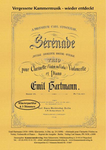 Hartmann, Emil – Klaviertrio