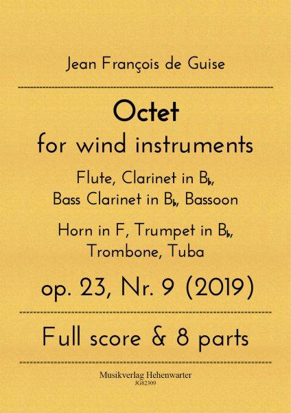 Guise, Jean François de – Octet for wind instruments op. 23, Nr. 9