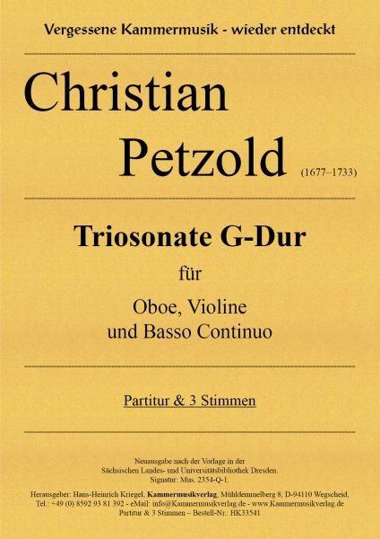 Petzold Christian – Triosonate G-Dur