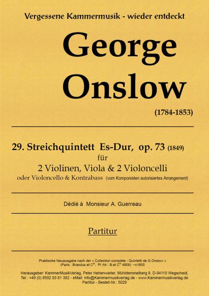 Onslow, George – Streichquintett Nr. 29