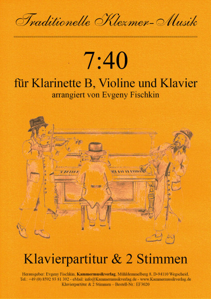 7:40 – Klezmer-Musik