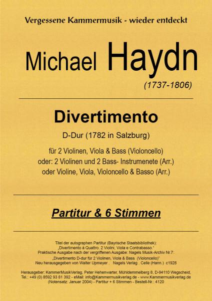 Haydn, Michael – Streichquartett