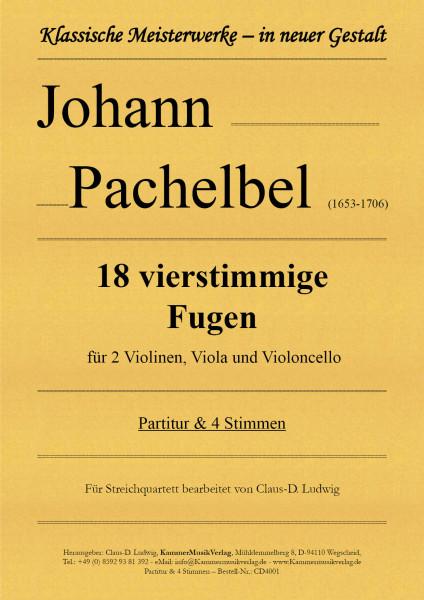 Pachelbel, Johann – 18 vierstimmige Fugen