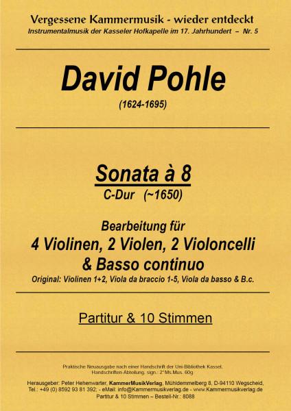 Pohle, David – Streichoktett, C-Dur