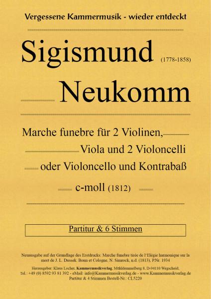 Neukomm, Sigismund – Marche funebre, c-Moll