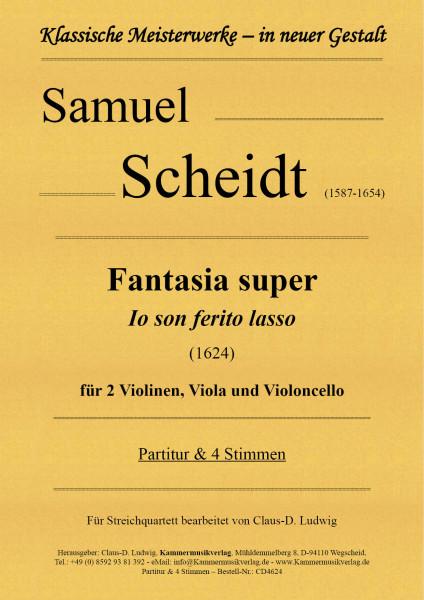 Scheidt, Samuel – Fantasia super für Streichquartett