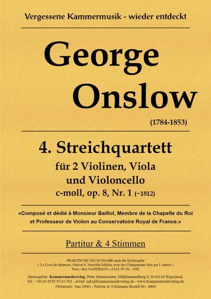 Onslow, George – Streichquartett Nr. 4