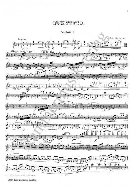 Maliszewski (Malichevsky), Witold – Streichquartett Nr. 3, Es-Dur, op. 15