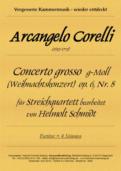 Corelli, Arcangelo – Streichquartett, g-Moll, op. 6, Nr. 8