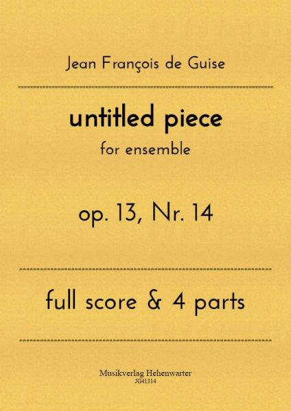 Guise, Jean François de – untitled piece
