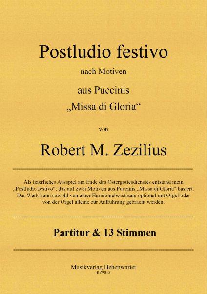 Zezilius, Robert M. – Postludio festivo