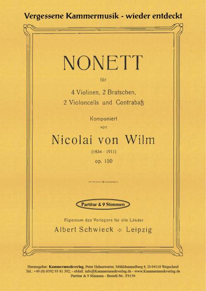 Wilm, Nicolai von – Streichnonett
