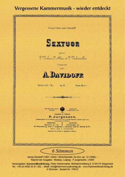 Davidoff, Alexej – Streichsextett