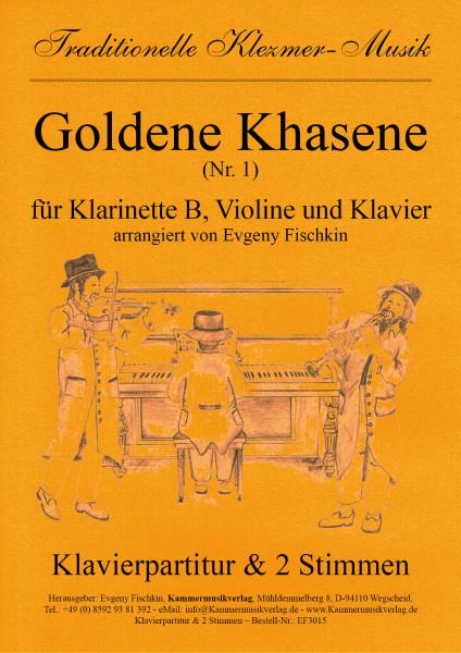 Goldene Khasene (Nr. 1) – Klezmer-Musik