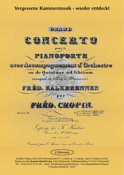 Chopin, Frédéric – Klaviersextett Nr. 1