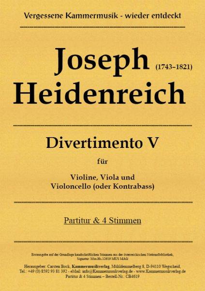 Joseph Heidenreich – Divertimento V