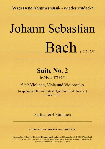 Bach, Johann Sebastian – Suite No. 2 für Streichquartett