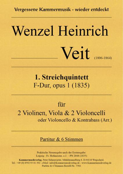 Veit, Wenzel Heinrich – Streichquintett Nr. 1