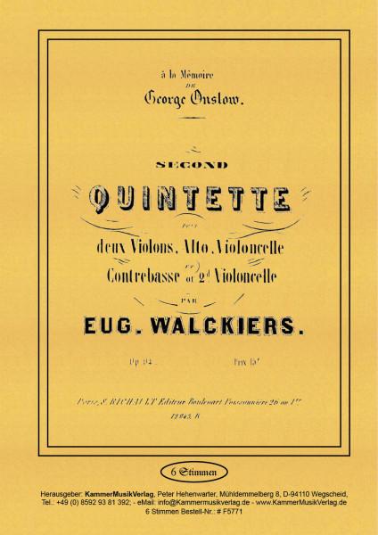 Walckiers, Eugéne – Streichquintett Nr. 2, c-Moll, op. 94