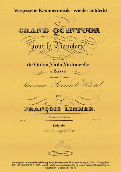 Limmer, Franz – Klavierquintett, d-Moll, op. 13