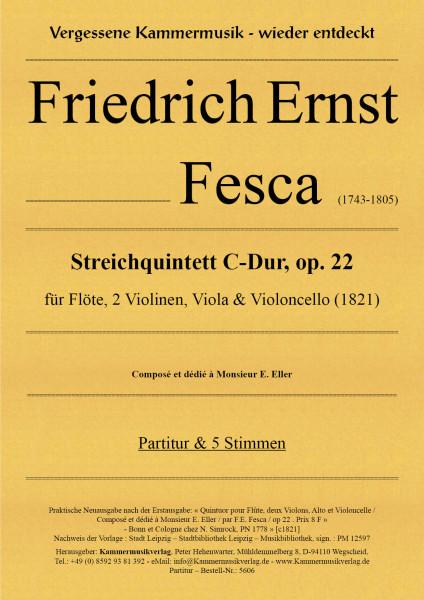 Fesca, Friedrich Ernst – Quintett für Flöte und Streichquartett